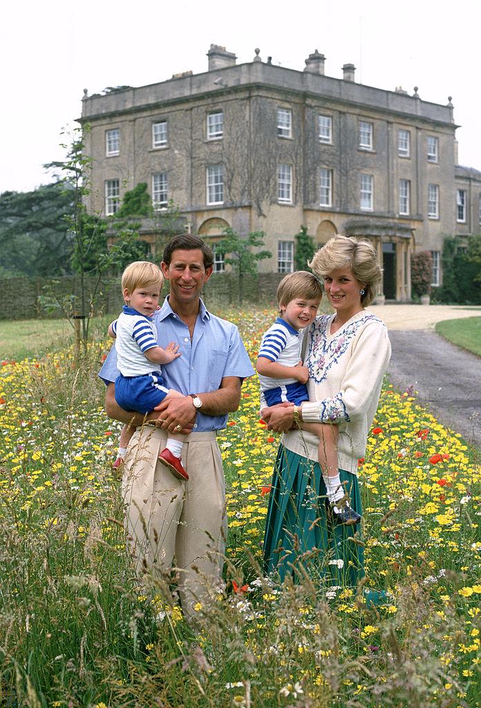 Diana Charles Harry William 1986