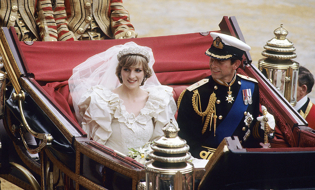 Diana and Charles wedding 1981