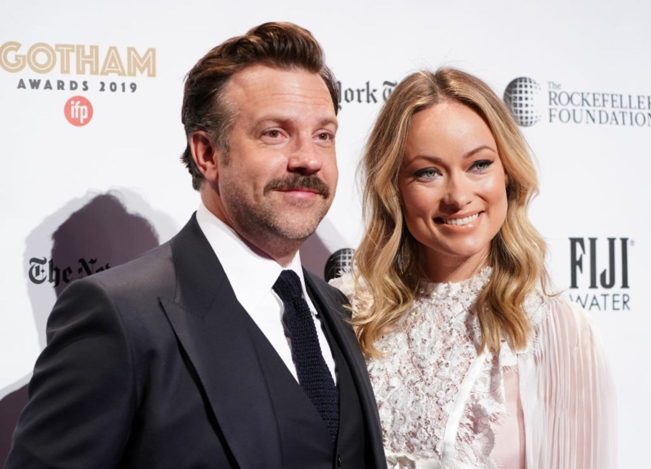 Jason Sudeikis og Olivia Wilde på Gotham Independent Film Awards i desember 2019 (Jemal Countess/Getty/IFP)
