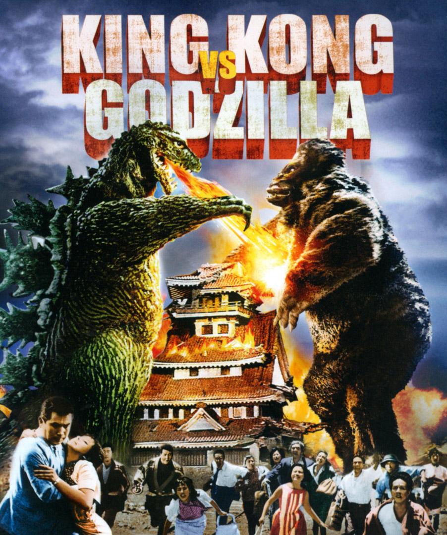 King Kong vs. Godzilla fra 1962 (Universal Pictures)