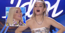 Claudia Conway skal imponere Katy Perry & co på American Idol (ABC)