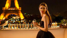 Lily Collins fra Emily in Paris (Netflix)