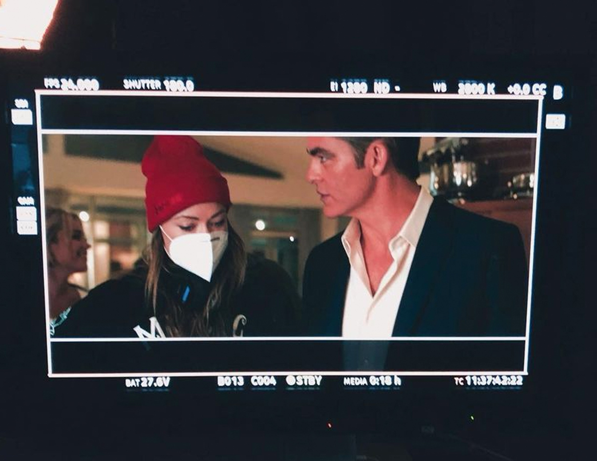 Olivia Wilde og Chris Pine (Instagram/oliviawilde)