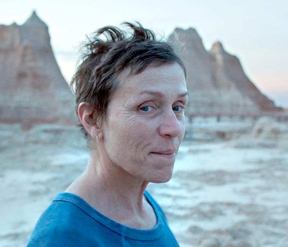 Frances McDormand i Nomadland (Searchlight)