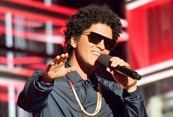 Bruno Mars på Billboard Music Awards i 2018 (Jeff Kravitz/FilmMagic)