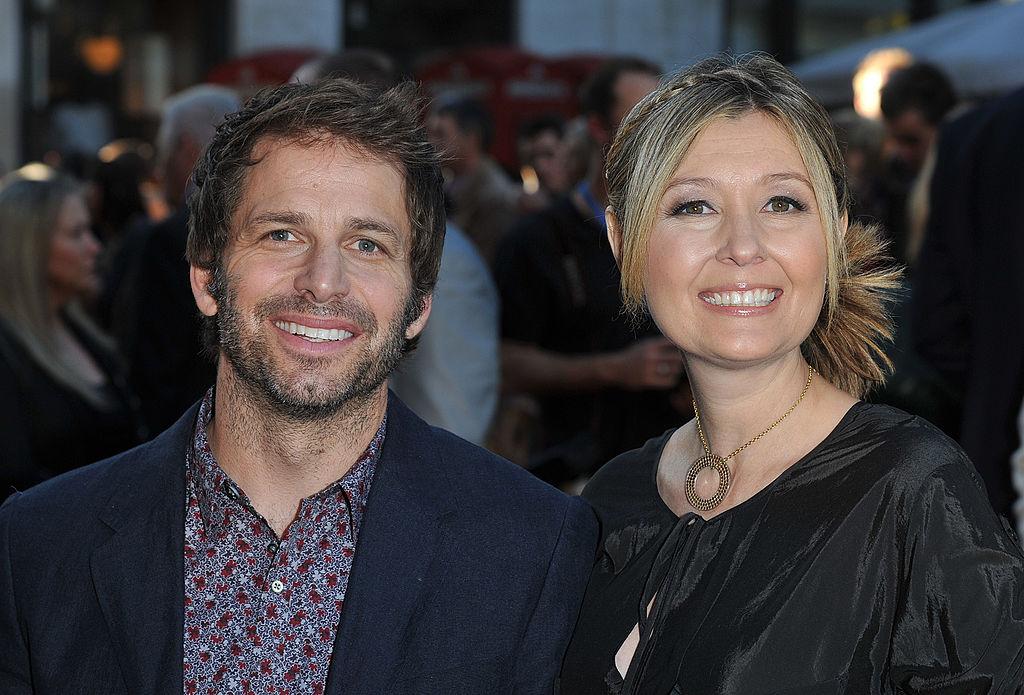 Zack Snyder og Debbie Snyder (Stuart Wilson/Getty)