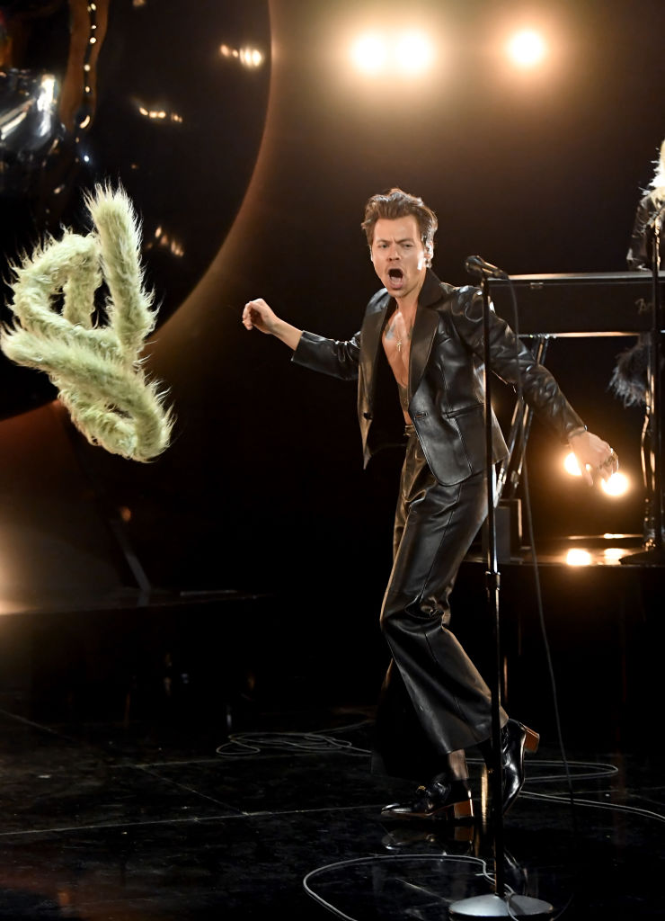 Harry Styles på Grammys 2021 (Kevin Winter/Getty)