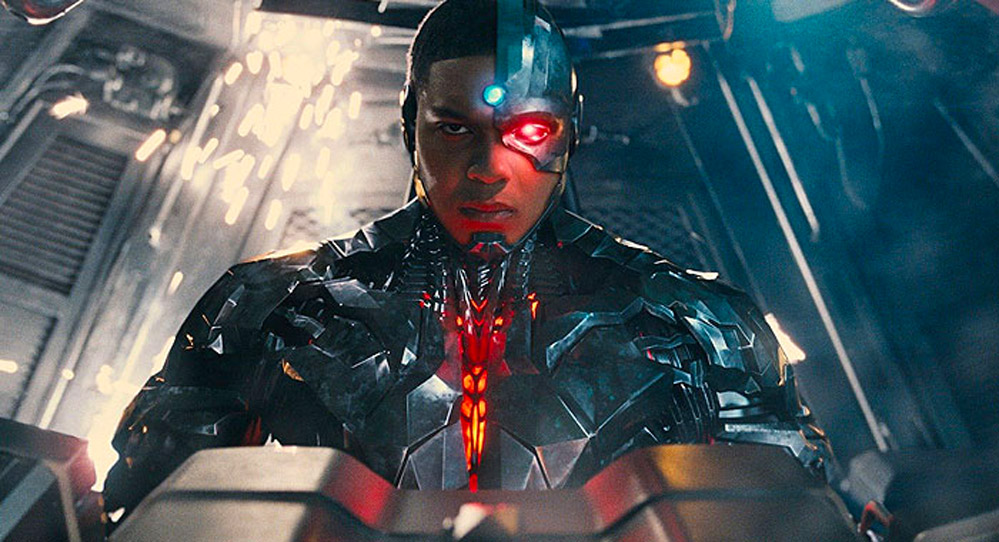 Ray Fisher som Cyborg (DC/Warner Bros.)