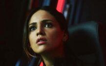 Eiza González som Maia Simmons i Godzilla vs. Kong (SF Studios/Legendary/Warner Bros.)
