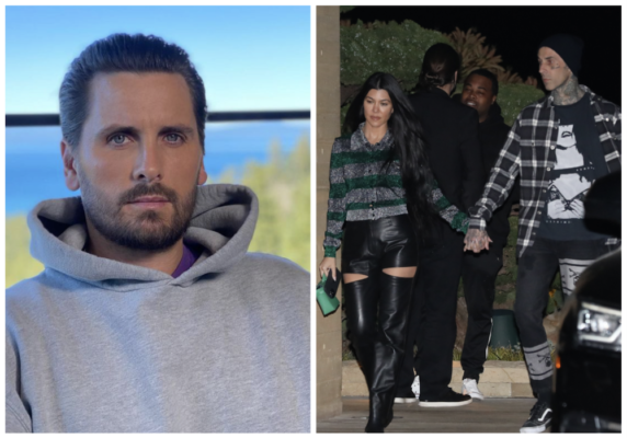 Scott Disick synes det er vanskelig å se Kourtney Kardashian med Travis Barker