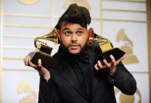 The Weeknd alias Abel Makkonen Tesfaye (Jason LaVeris/FilmMagic)