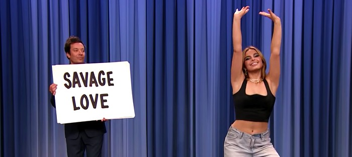 addison rae jimmy fallon the tonight show tiktok dance creators