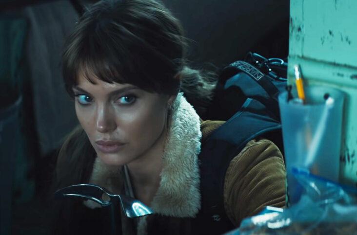 Angelina Jolie som Hannah Faber i Those Who Wish Me Dead (Warner Bros.)