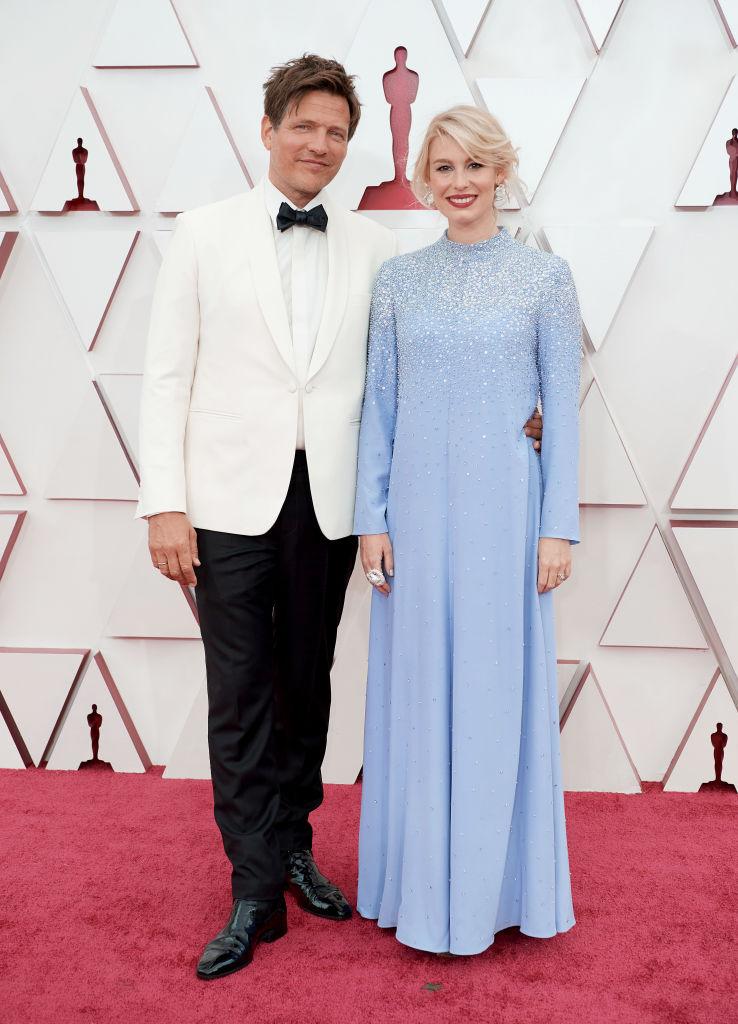 Dansk Oscar-oppsving: Regissøren Thomas Vinterberg og hans kone Helene Reingaard (Matt Petit/A.M.P.A.S./Getty)