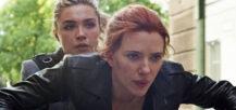 Black Widow x 2: Florence Pugh som Yelena Belova og Scarlett Johansson som Natasha Romanoff (Marvel/Disney)
