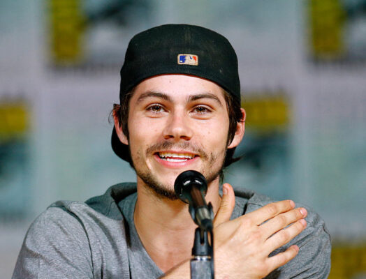 Dylan O'Brien snakker om Teen Wolf på Comic-Con i San Diego (Joe Scarnici/Getty)