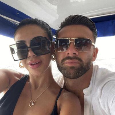 Isabel Raad og Jack Beaumont (Instagram/isabelsraad)