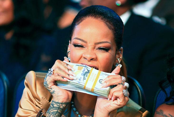 Rihanna på BET Awards i Los Angeles i 2015 (Christopher Polk/BET/Getty)