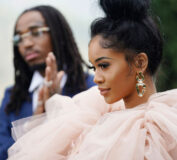 Quavo og Saweetie på Roc Nation-brunch i januar 2020 i Los Angeles (Erik Voake/Getty for Roc Nation)