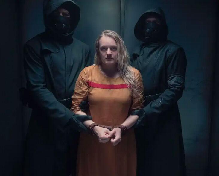 Elisabeth Moss som June Osborne i The Handmaid's Tale sesong 4 (Hulu)