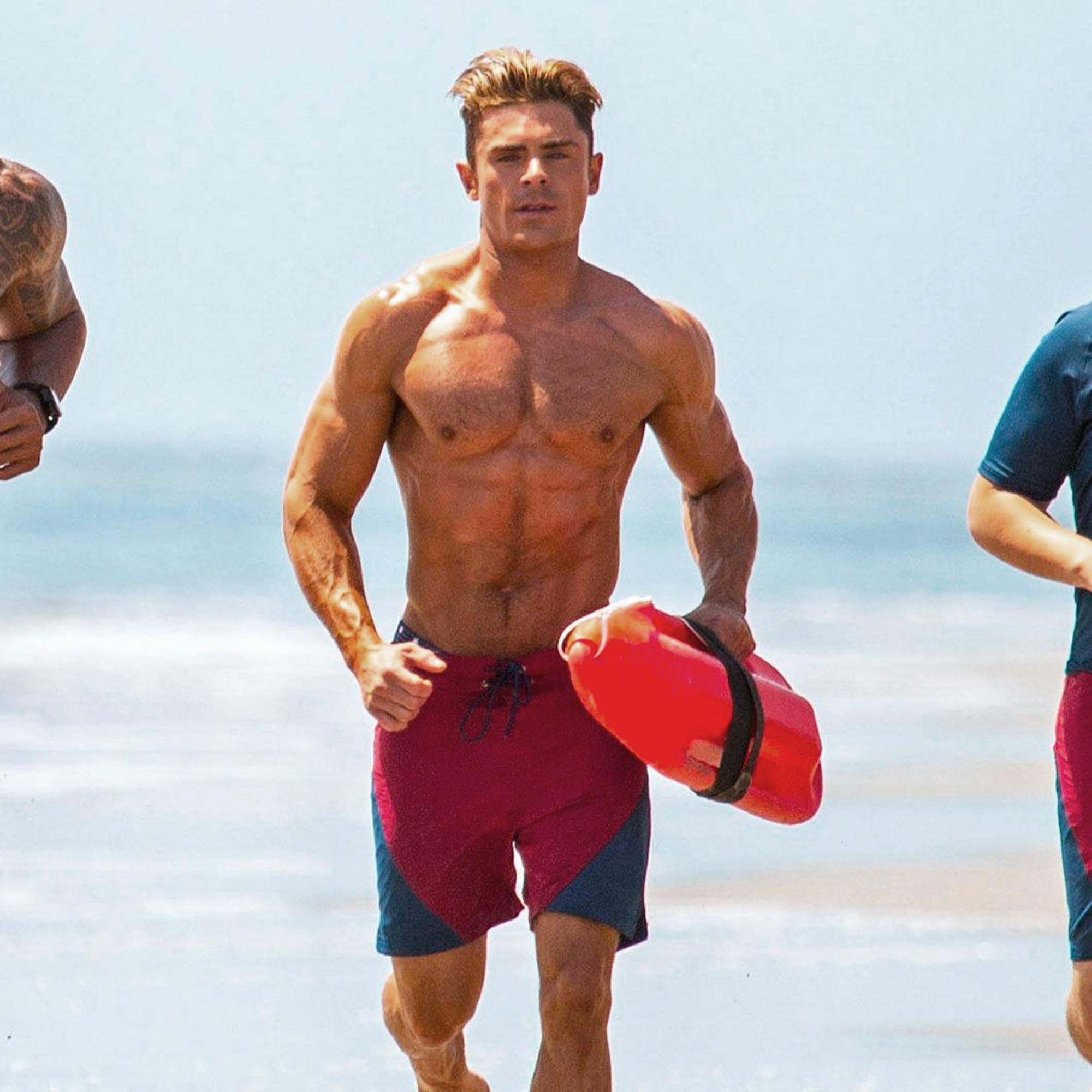 Zac Efron som Matt Brody i Baywatch (Paramount)