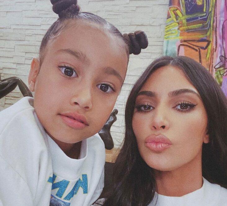 Kim Kardashian North West Instagram Story Olivia Rodrigo lol