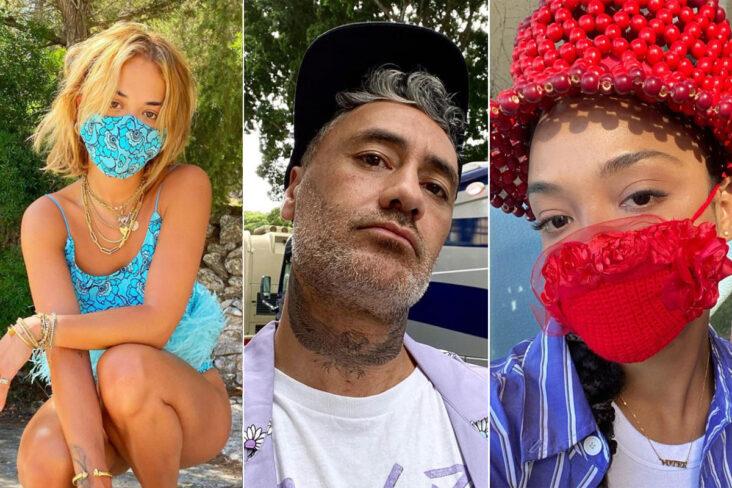 Rita Ora x Taika Waititi x Tessa Thompson (Instagram)