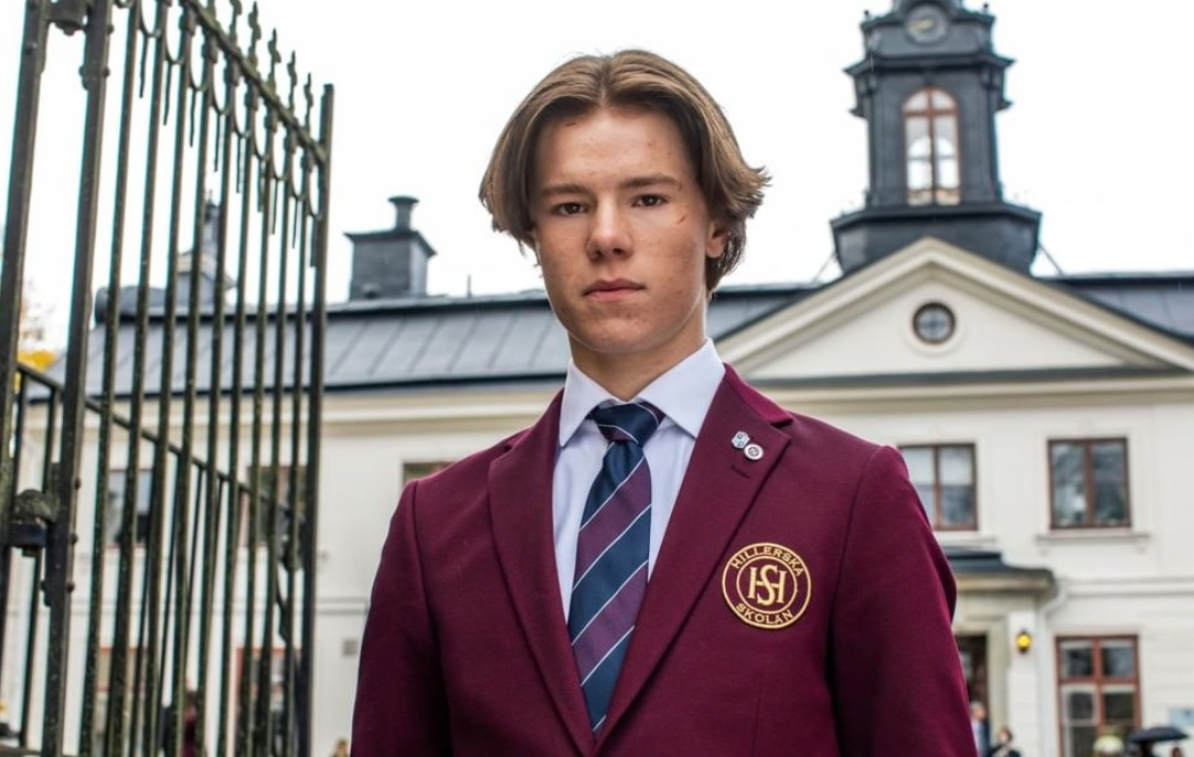 Young Royals Edvin Ryding prins Wilhelm Netflix