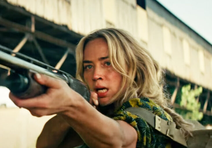 Emily Blunt som Evelyn Abbott i A Quiet Place 2 (Paramount/UIP)