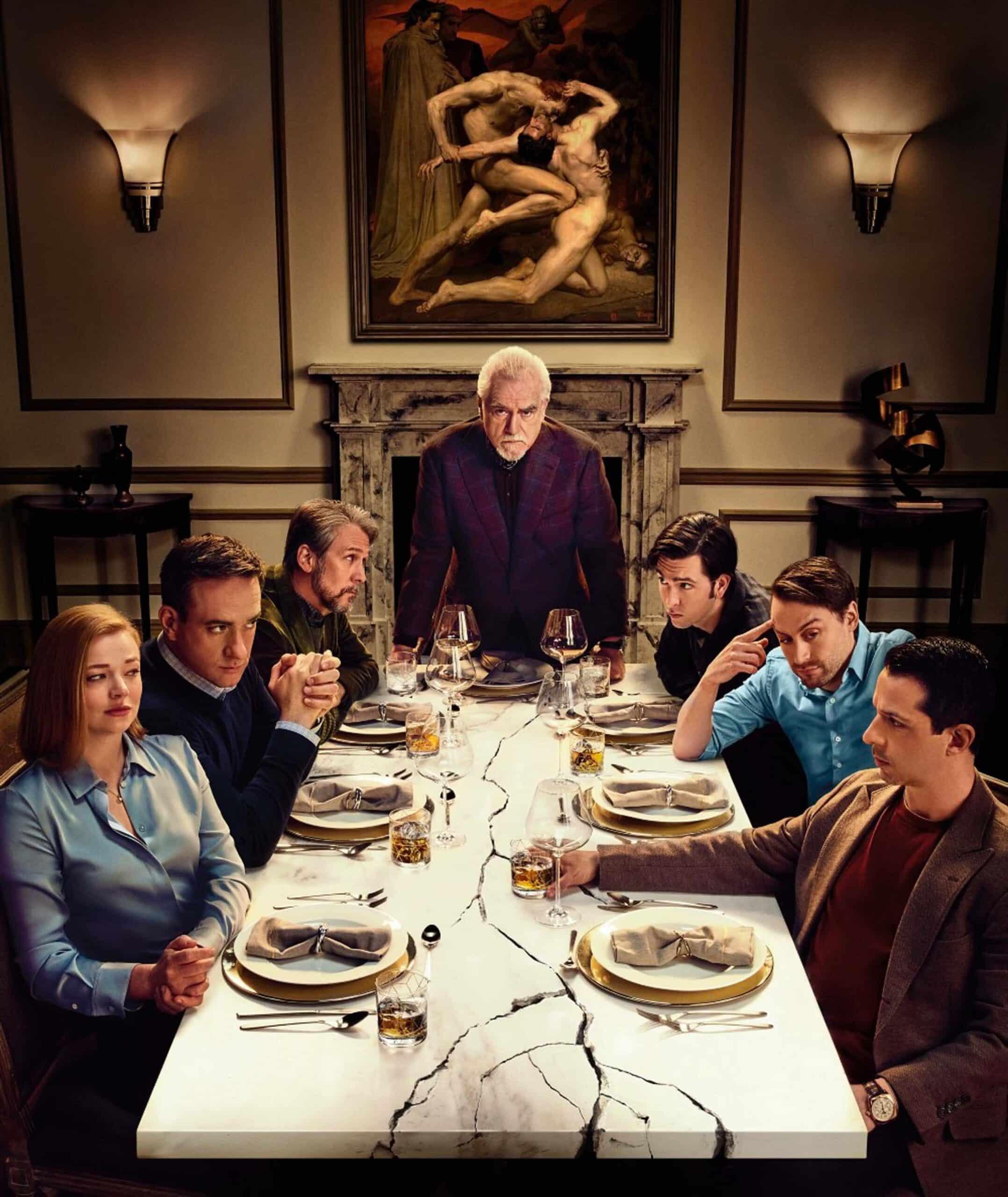 Familiemiddag hos the Roys 😬 (HBO)