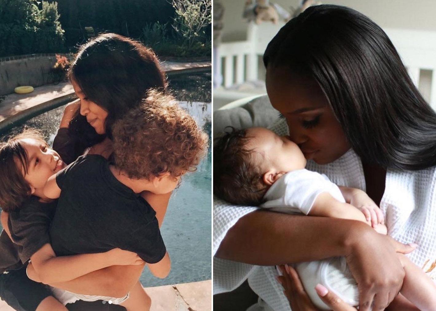 Kathryn Lockhart og Jevon King og barna til Diplo (Instagram/diplo)