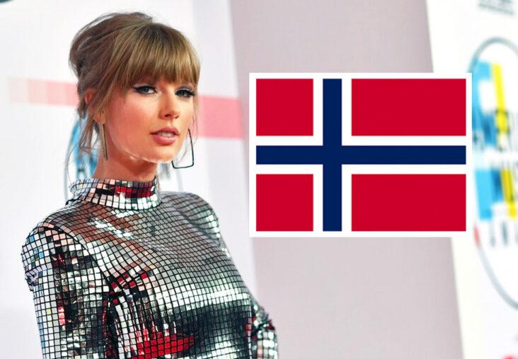 Taylor Swift elsker Marie Ulven alias girlinred. Her er Taylor på American Music Awards i Los Angeles i 2018 (Emma McIntyre/Getty)