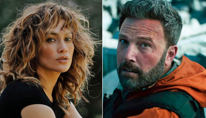 Jennifer Lopes og Ben Affleck alias Bennifer (Instagram/jlo, Netflix)