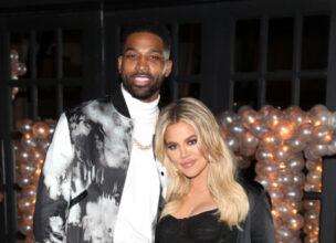 Tristan Thompson og Khloe Kardashian på restauranten Beauty & Essex i West Hollywood i 2018 (Jerritt Clark/Getty)