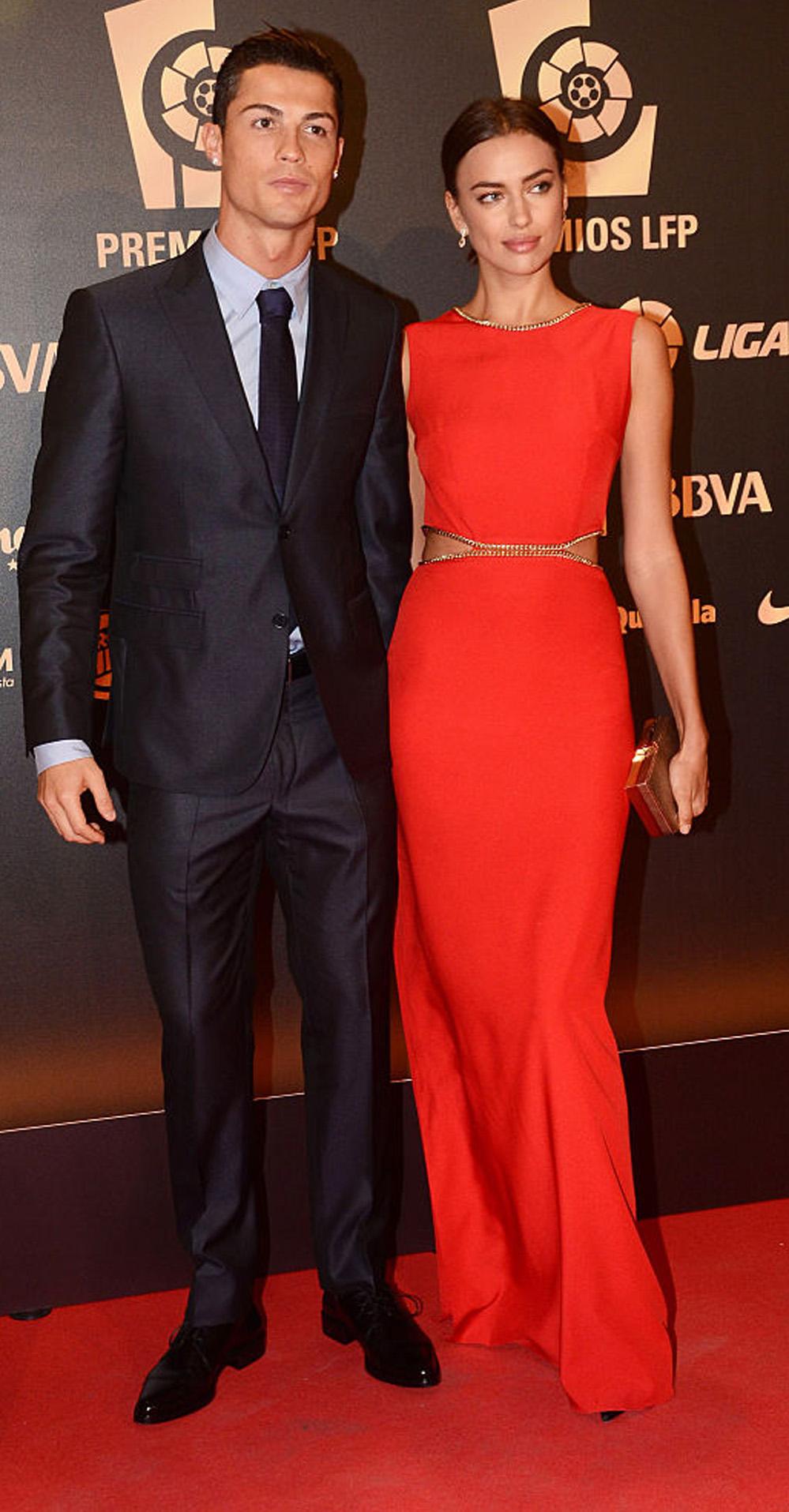 Irina Shayk og Cristiano Ronaldo (Europa Press/Getty)