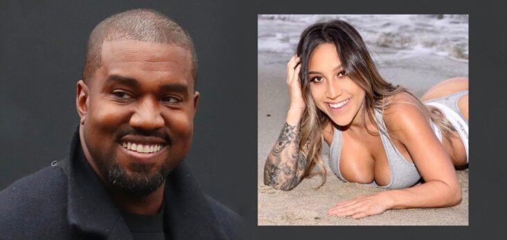 Kanye West Anessa Rossi TikTok strip club LA