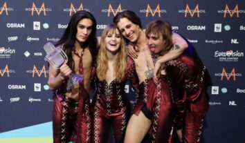 Måneskin Eurovision winners 2021 Rotterdam Italy