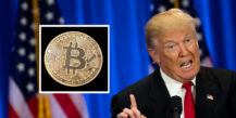Donald Trump vs. Bitcoin (Drew Angerer/Getty)