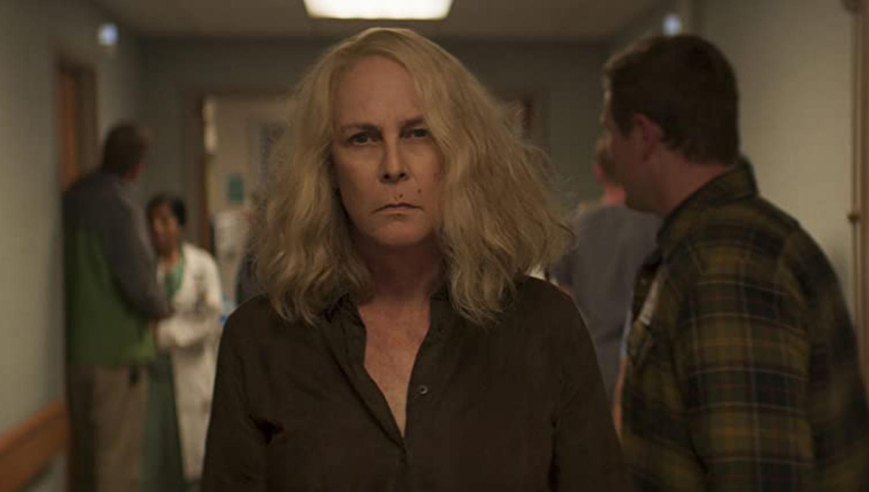 Jamie Lee Curtis som Laurie Strode (UIP/Miramax/Blumhouse/Universal)