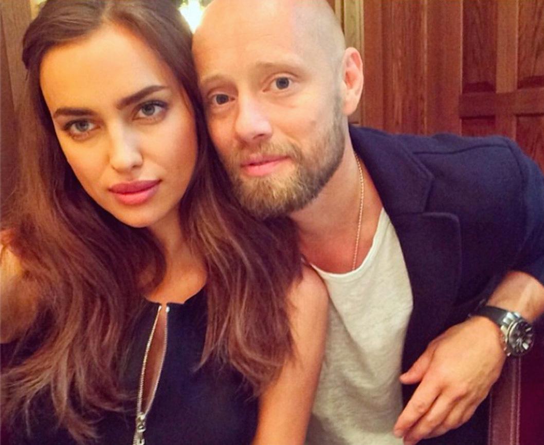 Irina Shayk og Aksel Hennie (Instagram/irinashayk)