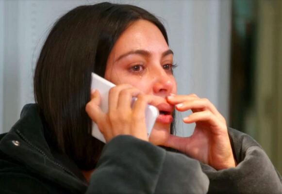 Kim Kardashian i en tidligere episode av Keeping Up with the Kardashians (E!)