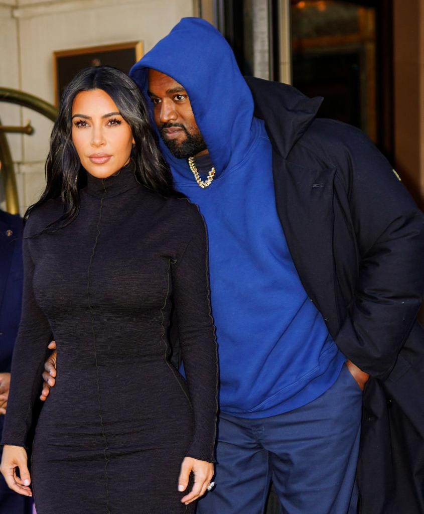 Kim Kardashian og Kanye West i New York i november 2019 (Gotham/GC Images)