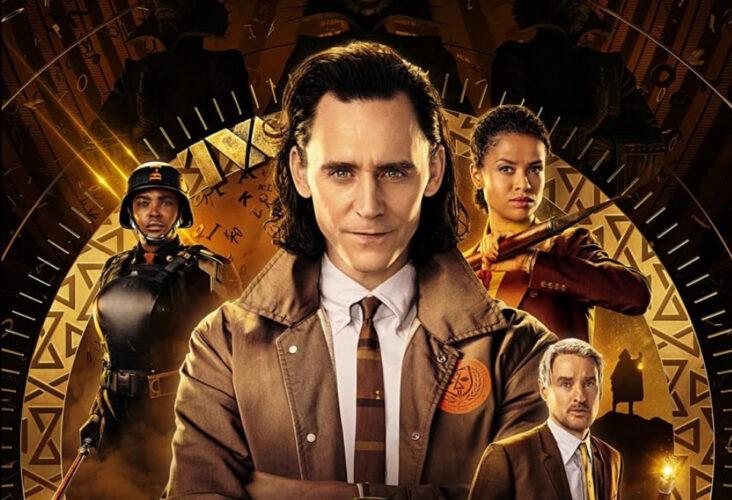 Owen Wilson, Tom Hiddleston, Gugu Mbatha-Raw og Wunmi Mosaku i Loki (Marvel/Disney+)