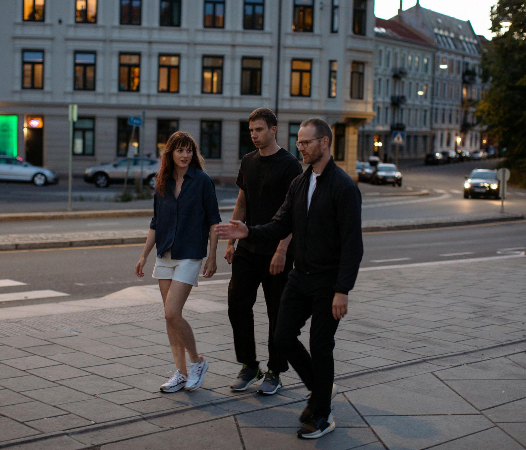 BTS fra Verdens verste menneske med Renate Reinsve, Herbert Nordrum og joachim trier (Christian Belgaux/SF Studios/Oslo Pictures)