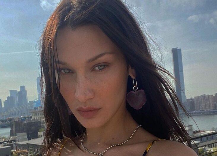Bella Hadid er Instagram-offisiell med Marc Kalman