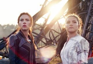 Black Widow x 2: Scarlett Johansson som Natasha Romanoff, Florence Pugh som Yelena Belova (Marvel/Disney)