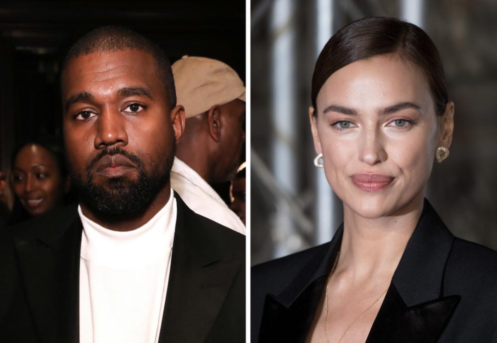 Det er over for Kanye West og Irina Shayk