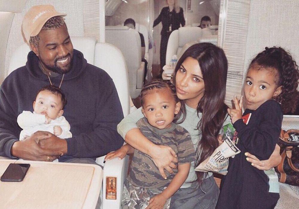 Slik samarbeider Kim Kardashian og Kanye West om foreldrerollen etter skilsmissen