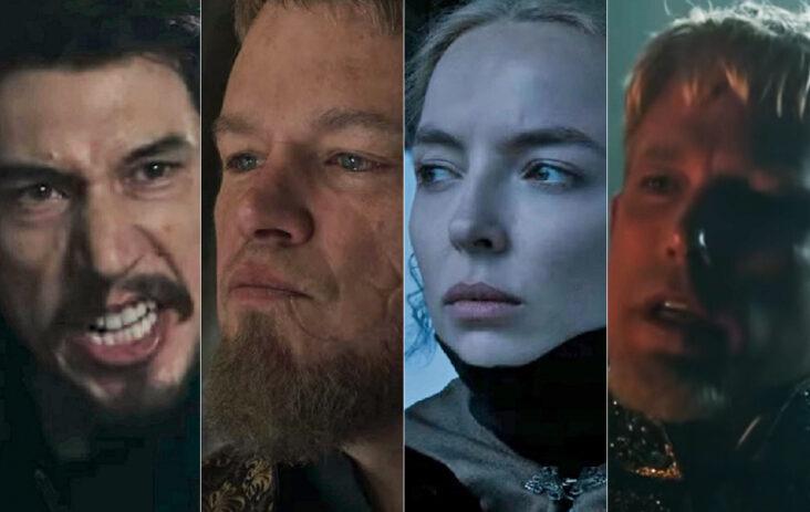 The Last Duel med Adam Driver, Matt Damon, Jodie Comer og Ben Affleck (20th Century)