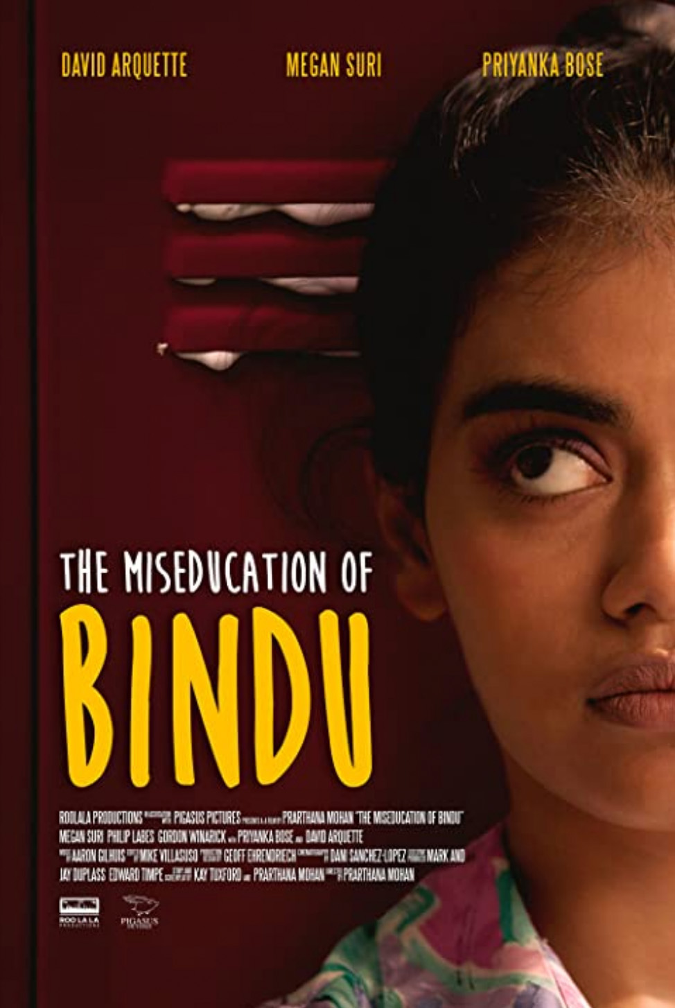 Megan Suri som Bindu Chaudry i The MisEducation of Bindu (Pigasus Pictures)